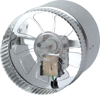 "Suncourt 6"" In-Line Duct Fan"