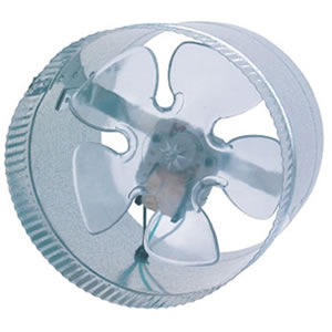 "Suncourt 8"" In-Line Duct Fan"