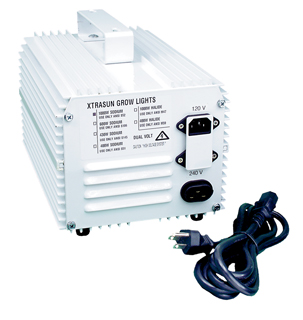 Xtrasun 1000W Metal Halide Ballast, 120/240v - Click Image to Close