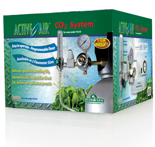 Active Air CO2 System (.2-2 CF per hour) - COSYS - Free Shipping