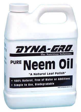 Dyna-Gro Pure Neem Oil, Quart