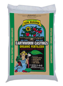 Wiggle Worm Earth Worm Castings - 30 lb.