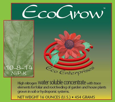 Ecogrow Powdered Nutrients