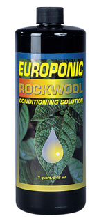 Europonic Rockwool Conditioning Solution - Quart