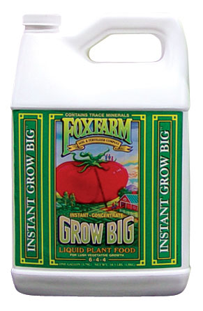 Fox Farm Grow Big (6-4-4) - Gallon - Free Shipping