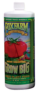 Fox Farm Grow Big (6-4-4) - Quart