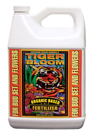 Fox Farm Tiger Bloom (2-8-4) - Gallon - Free Shipping