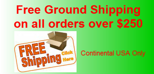 Free Shipping on 250