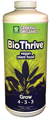 General Organics BioThrive Grow (4-3-3) - Quart