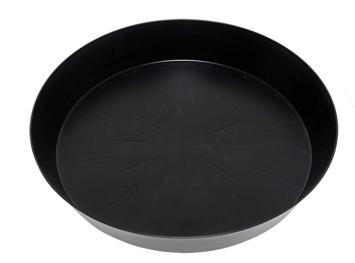 Giant Black Saucers