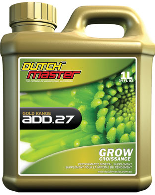 Dutch Master Gold Add.27 Grow - Liter