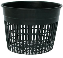 "6"" Net Pot - Hydrofarm, Bag of 50"
