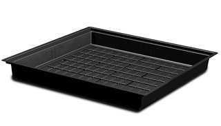 Black Flood Table/Tray, 4' x 4'