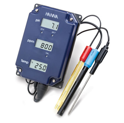 Hanna Tri-Meter - pH/TDS/Temperature Monitor (HI981504/7)