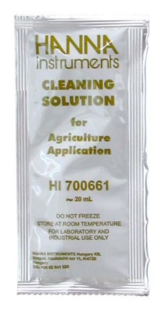 Hanna Cleaning Solution, 20 mL Sachet