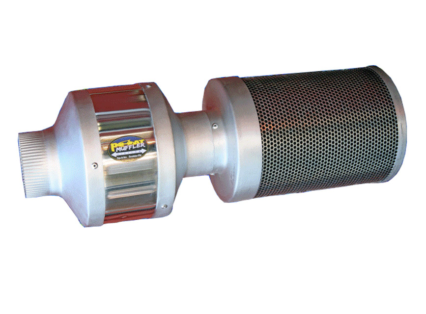"Phat Muffler 35"" x 10"" - Click Image to Close"