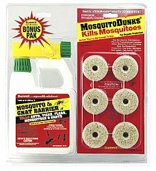 Mosquito Dunk Gnat Twin Combo Pack - Click Image to Close