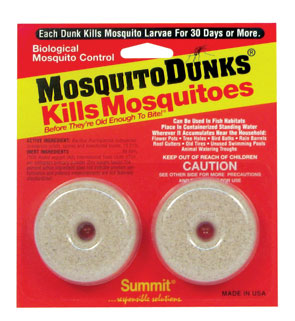 Mosquito Dunks, 2/Card