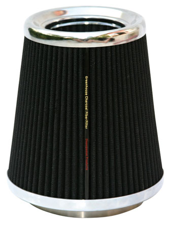 "Organic Air 4"" Charcoal Fiber Filter - Free Shipping"