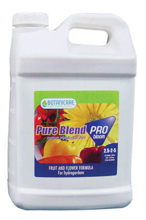 Botanicare Pure Blend Pro Bloom(2-3-5) - 2.5 Gallon