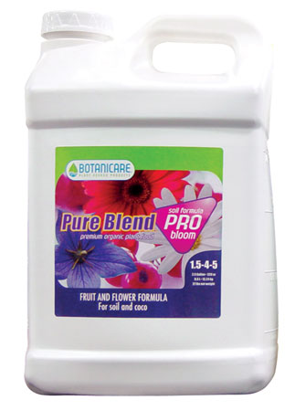 Botanicare Pure Blend Pro Soil (1-4-5) - 2.5 Gallon