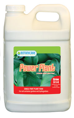 Botanicare Power Plant (3-1-4) - 2.5 Gallon