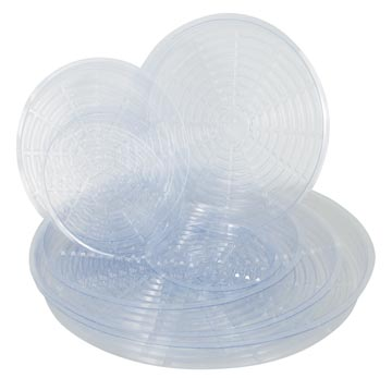 Clear Plastic Saucers
