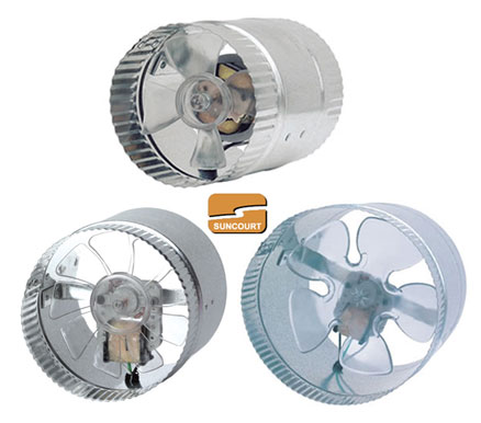 Suncourt In-Line Duct Fan