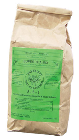 Super Tea, Dry (5-5-1) - 2 lb Bag