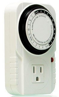 Single Outlet Analog Timer GWP100