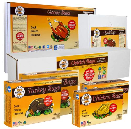 Turkey Bags (10/Pk) - Click Image to Close