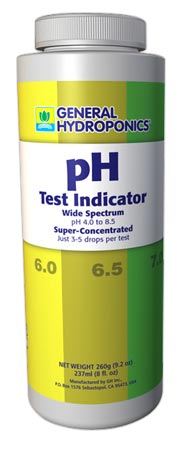 GH pH Test Indicator, 8 oz.